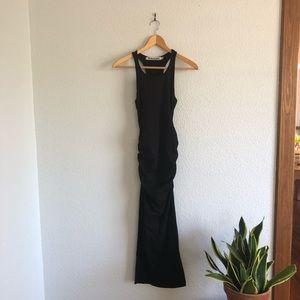 Michael Stars Black Racerback Maxi Dress NWOT